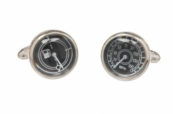 Fuel Gauge and Speedometer Cufflinks